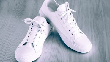 White Men's Leather Shoes